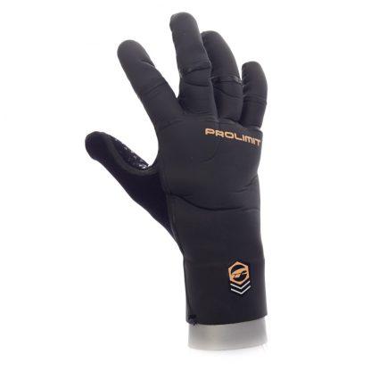 Handske förböjda fingrar